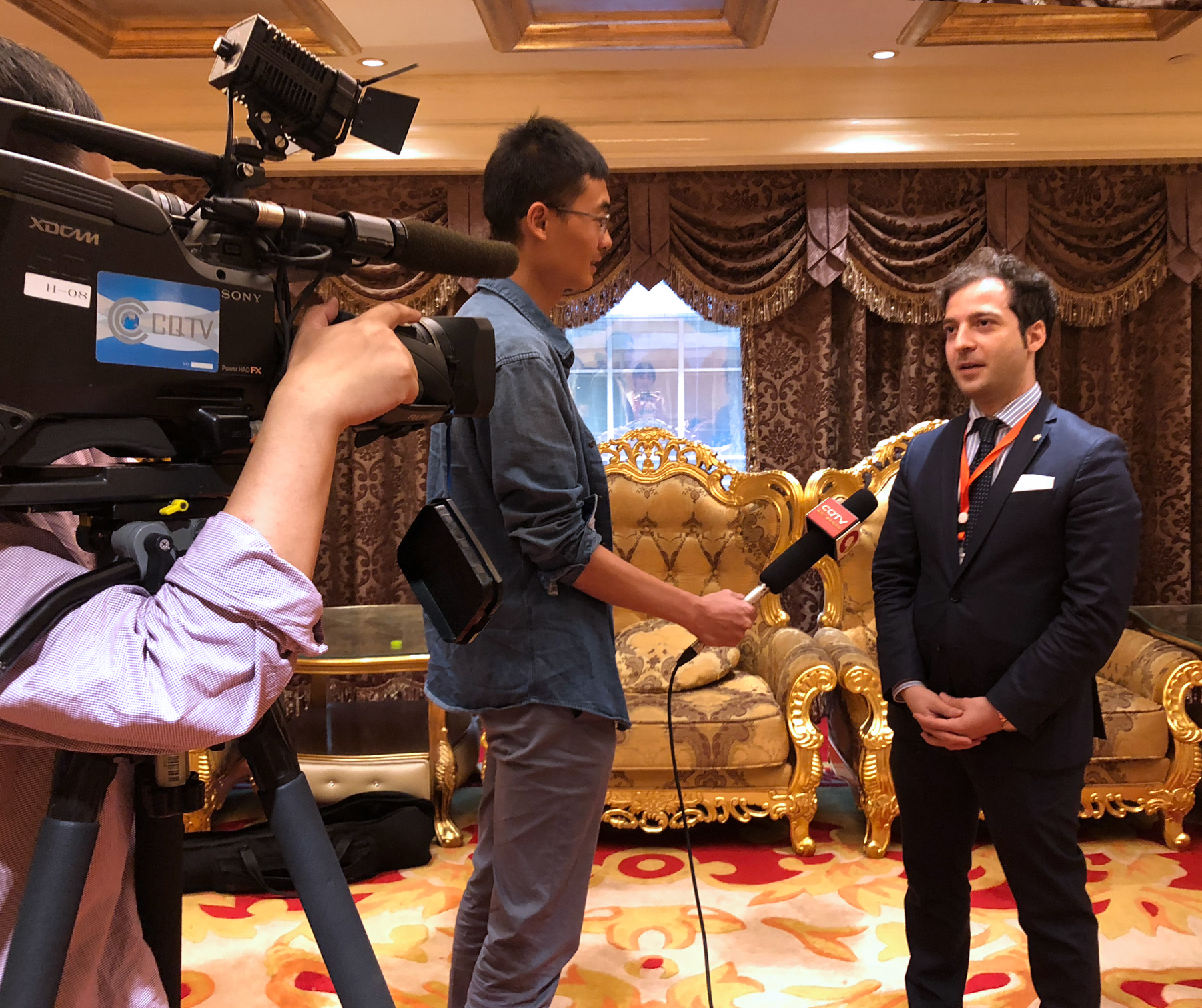 DeZhuang International Co-Founder Speaks at 1st International Hotpot Food Industry Summit